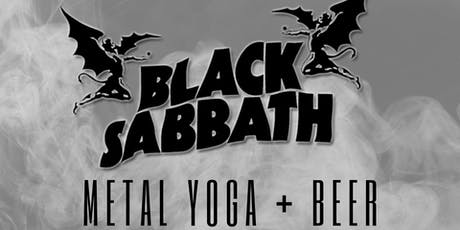 BLACK SABBATH Metal Yoga with Black Widow Yoga at Castle Island Brewing tickets