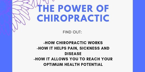 THE POWER OF CHIROPRACTIC