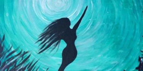 Mermaid Bliss Paint Night at Green Bar tickets