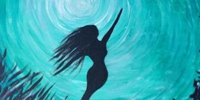 Mermaid Bliss Paint Night at Copper Branch
