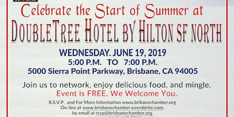 Celebrate the Start of Summer at DoubleTree by Hilton San Francisco Airport North tickets