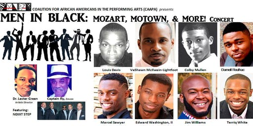 Men in Black: Mozart, Motown, and More Concert