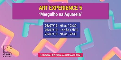 "Art Experience: ""Mergulho na Aquarela"""