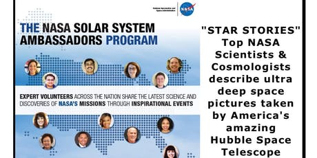 Star Stories from the Hubble Telescope with a NASA Solar System Ambassador tickets