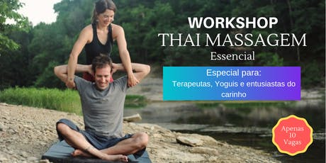 Workshop - Thai Massagem Essencial ingressos