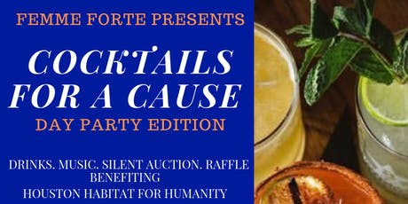 COCKTAILS FOR A CAUSE: day party edition tickets