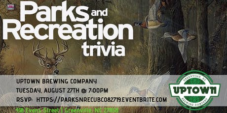 Parks and Recreation Trivia at Uptown Brewing Company tickets