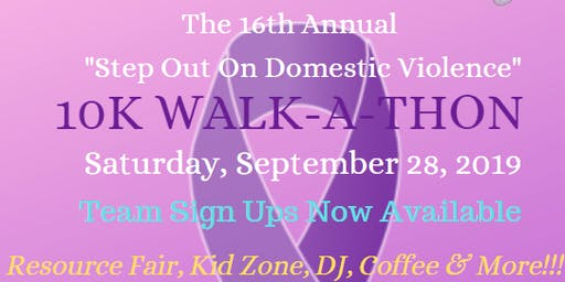 16th Annual Walk-a-thon: Step out on Domestic Violence
