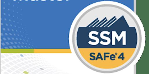 SAFe® Scrum Master 5.0 with SSM Certification Detroit,Michigan (Weekend)