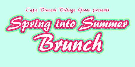 Spring into Summer Brunch tickets