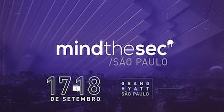 Mind The Sec São Paulo 2019 ingressos
