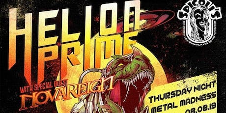 Helion Prime with Novareign and more! tickets