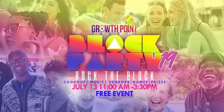 Growth Point Block Party: Rock The Block tickets