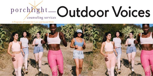 Porchlight Counseling Services x Outdoor Voices Donate + Shop Party!