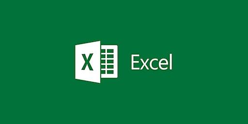 Excel - Level 1 Class | Burlington, Vermont