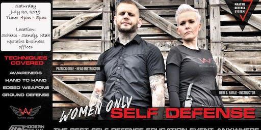 Women's Self Defense Event (4-8pm)