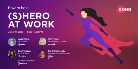 How to be a (S)Hero at Work tickets