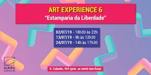 "Art Experience: ""Estamparia da Liberdade"""