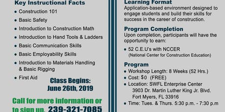 Preconstruction Readiness Training Program tickets