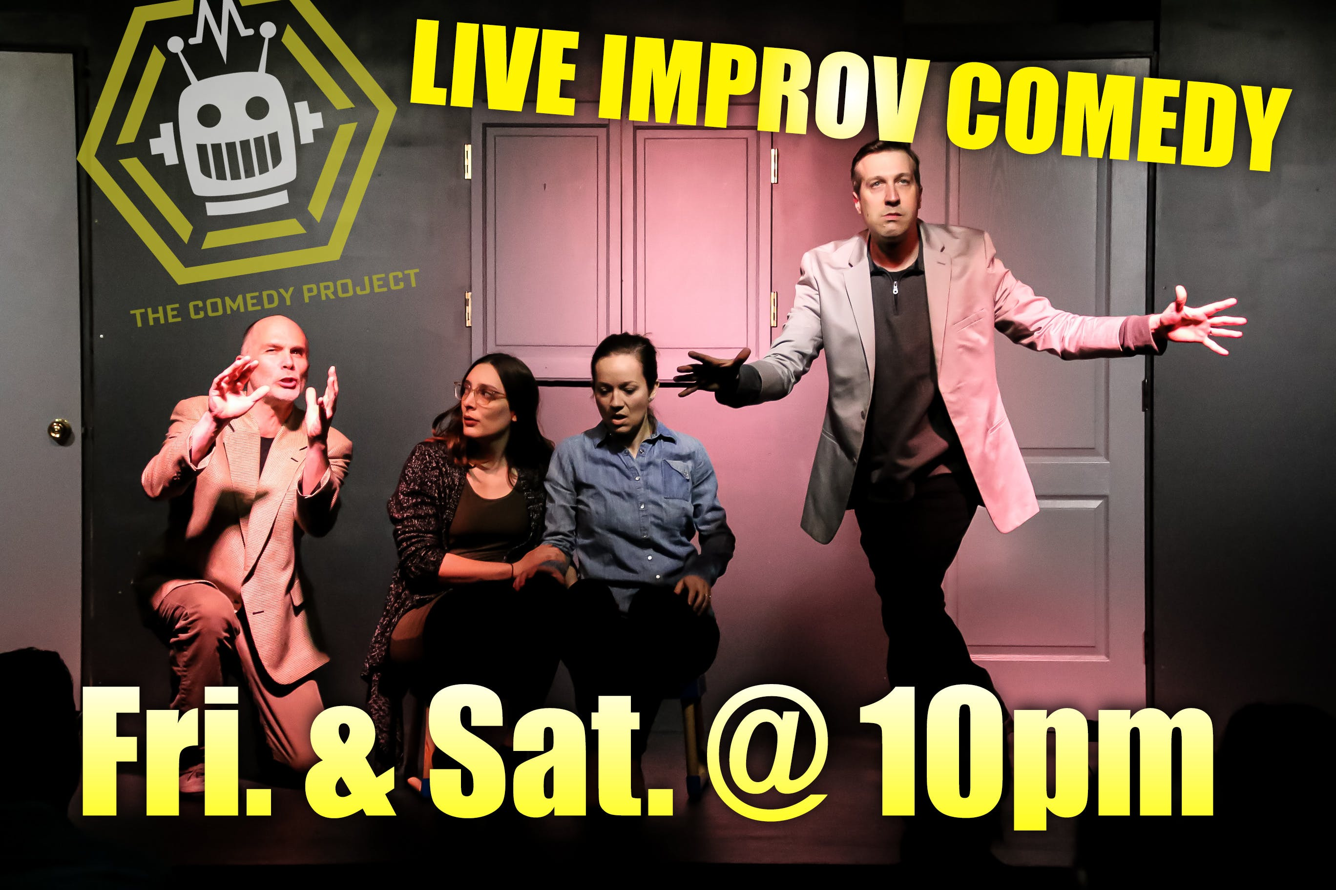 Friday Night Improv banner