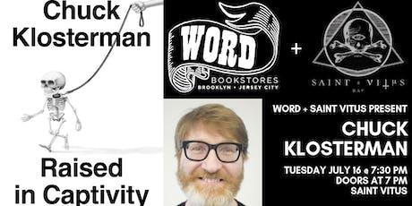 WORD + Saint Vitus Present Chuck Klosterman tickets