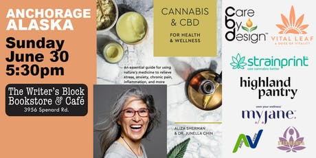 "TALK: ""Cannabis & CBD for Health & Wellness"" with author Aliza Sherman tickets"
