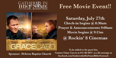 The Grace Card - A Free Movie Event tickets