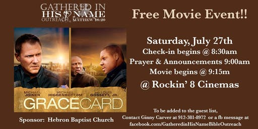 The Grace Card - A Free Movie Event
