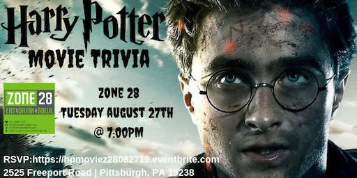 Harry Potter Trivia (Movie) at Zone 28