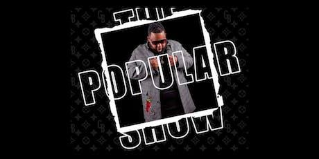 The Popular Show with Gordo Brega tickets