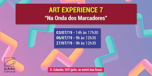 """Art Experience: """"Na Onda dos Marcadores"""""""