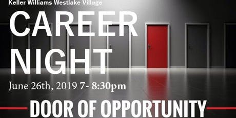 Career Night - Keller Williams Westlake Village tickets