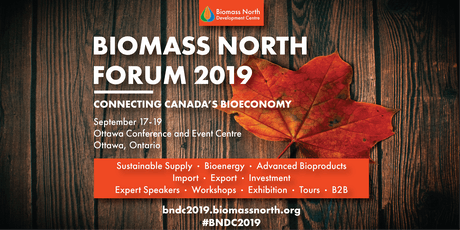 Biomass North Forum 2019 - Connecting Canada's Bioeconomy tickets