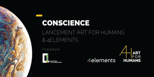 Lancement d'Art For Humans et de 4elements, au Quartier de l'innovation