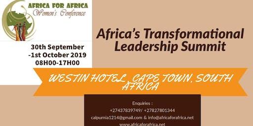 AFRICA'S TRANSFORMATIONAL LEADERSHIP SUMMIT