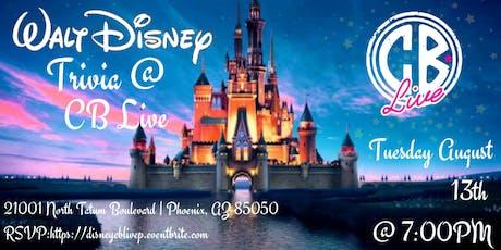 Disney Movie Trivia at CB Live Phoenix tickets