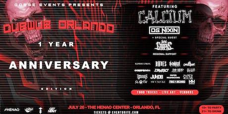 DUB WUB ORLANDO 1 YEAR ANNIVERSARY tickets