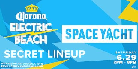 Corona Electric Beach x Space Yacht (Chicago) tickets