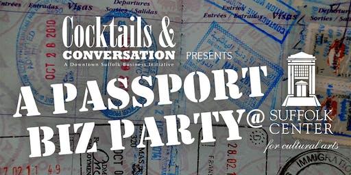 Cocktails & Conversation XIX - Passport Summer Party