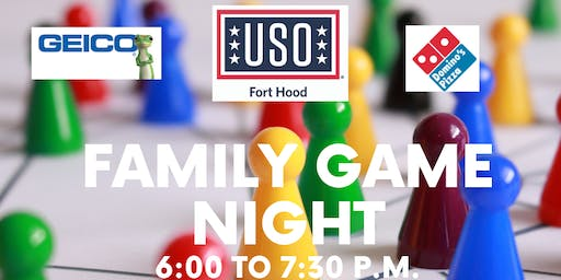 Family Game Night with USO Fort Hood