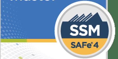 SAFe® Scrum Master with SSM Certification Orlando,Florida (Weekend)  tickets