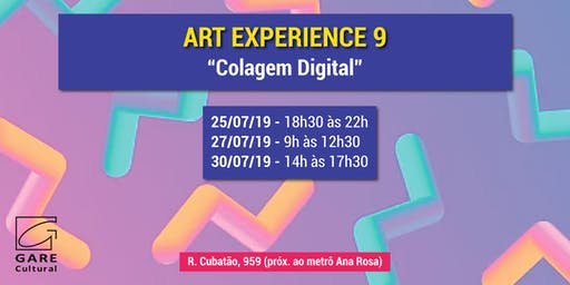 "Art Experience: ""Colagem Digital"""