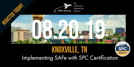 Implementing the Scaled Agile Framework with SPC Certification tickets