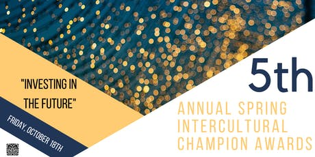 5th Spring Intercultural Champion Awards - Investing in the Future tickets
