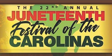 Juneteenth of the Carolinas tickets