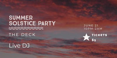 Summer Solstice Boat Party