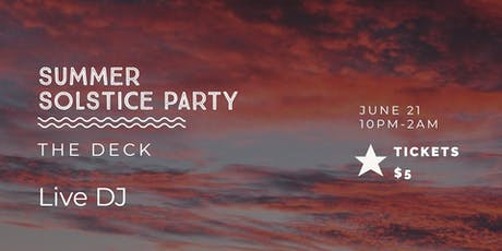 Summer Solstice Boat Party  tickets