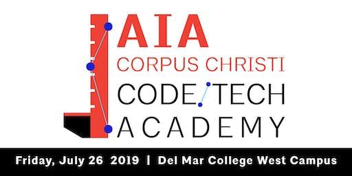 AIA CORPUS CHRISTI 2019 CODE/TECH ACADEMY
