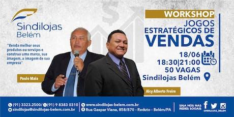 Workshop: Jogos Estratégicos de Vendas ingressos