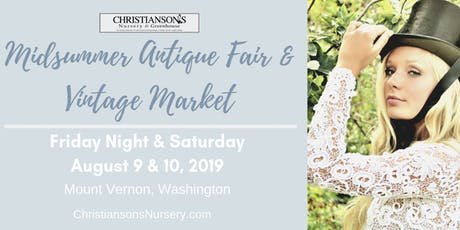 Christianson's Midsummer Antique Fair 2019 tickets